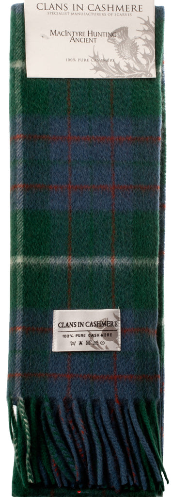 Cashmere Clan Scarf MacIntyre Hunting Ancient