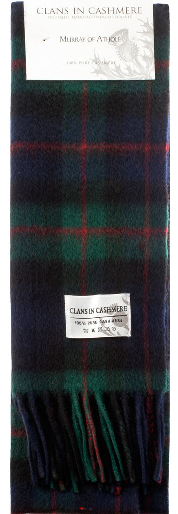 Cashmere Clan Scarf Murray of Atholl Modern