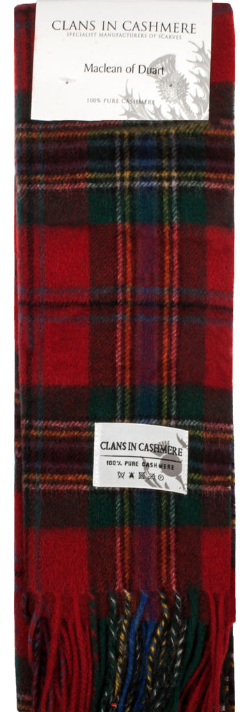 Cashmere Clan Scarf MacLean of Duart Modern
