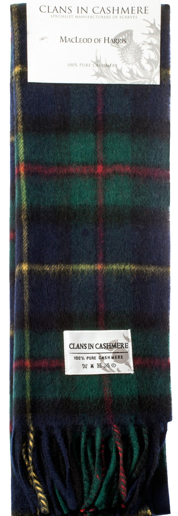 Cashmere Clan Scarf MacLeod of Harris Modern