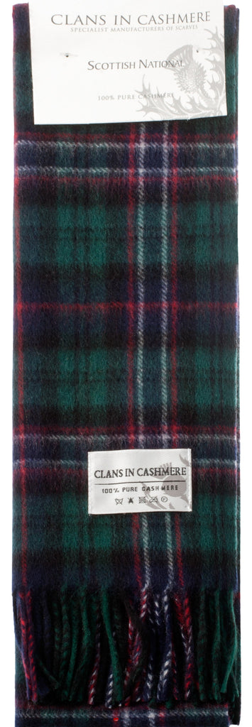 Cashmere Clan Scarf Scottish National