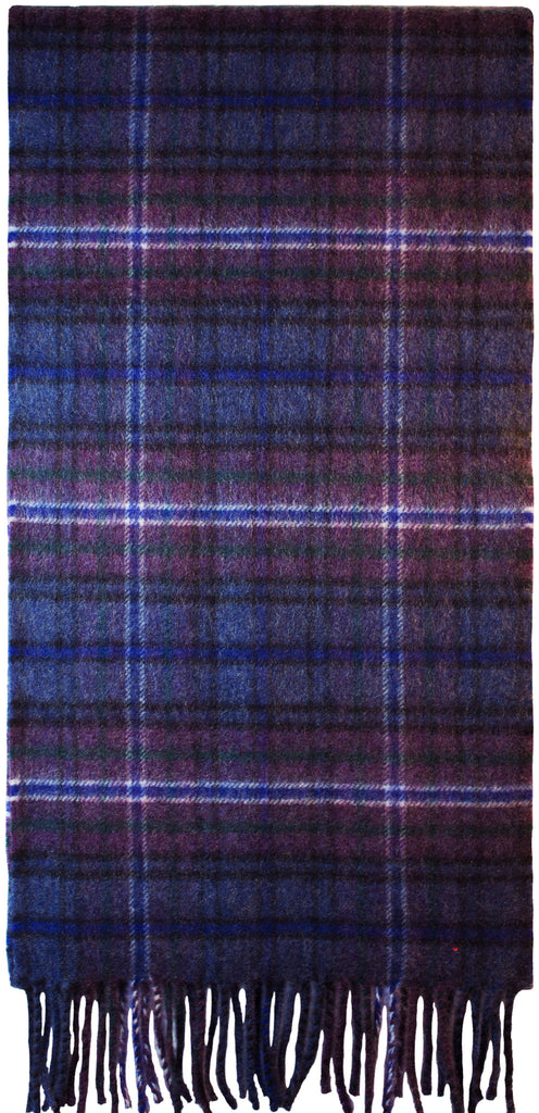 Scotland Forever Mod Luxurious Scarf in 100% Cashmere - iluvcashmere