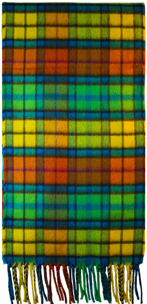 Buchanan Bright Luxurious Scarf in 100% Cashmere - iluvcashmere