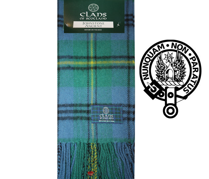 Johnstone Ancient Tartan Scarf (Clan Scarf)