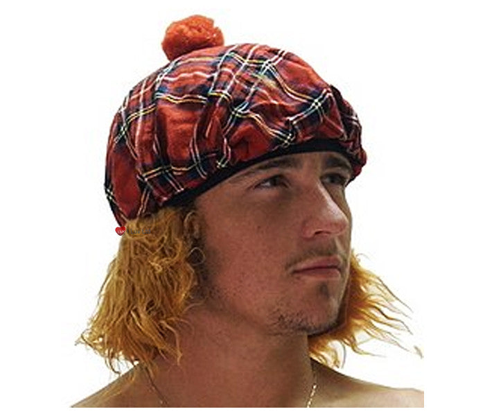 See You Jimmy Hat in Royal Stewart Red Tartan