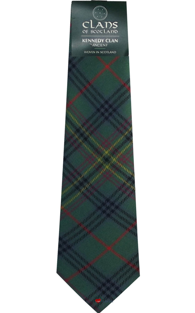 Kennedy Ancient Clan Tartan Tie