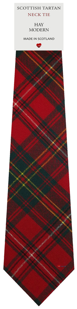 Mens All Wool Tie Woven Scotland - Hay Modern Tartan