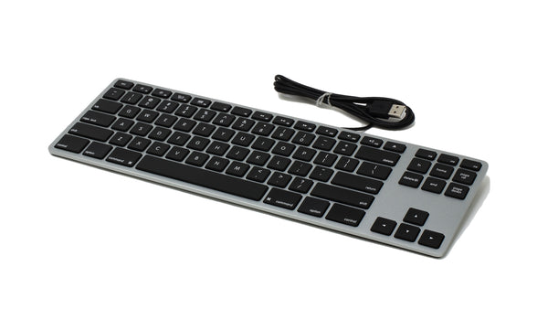 Podcast - Wired Aluminum Tenkeyless Keyboard