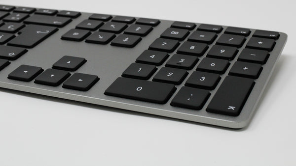 Wired Aluminum Keyboard for Mac - Space Gray - French Canadian Version