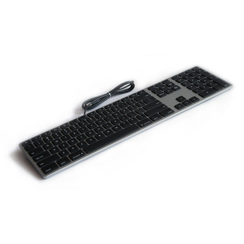 Wired Aluminum Keyboard for Mac - Space Gray