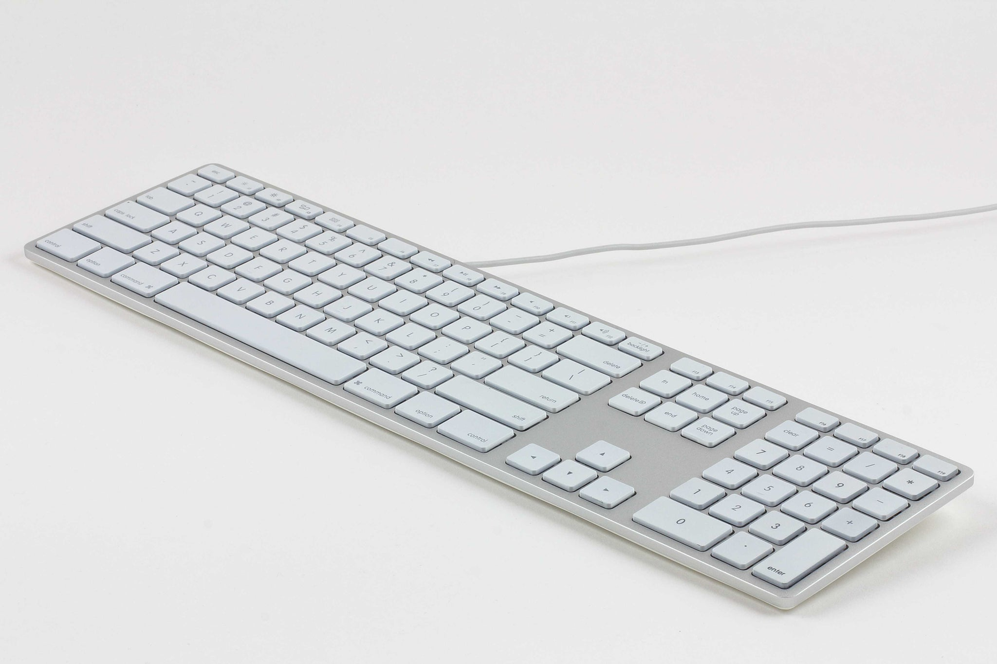 Podcast - RGB Backlit Wired Aluminum Keyboard