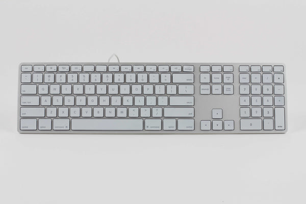 RGB Backlit Wired Aluminum Keyboard for Mac - Silver