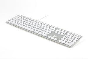 iOStoday - Wired Aluminum Keyboard