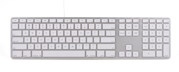 Wired Aluminum Keyboard for Mac - Silver