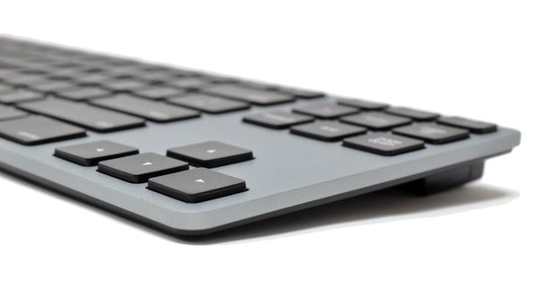 Wireless Aluminum Tenkeyless Keyboard - Space Gray