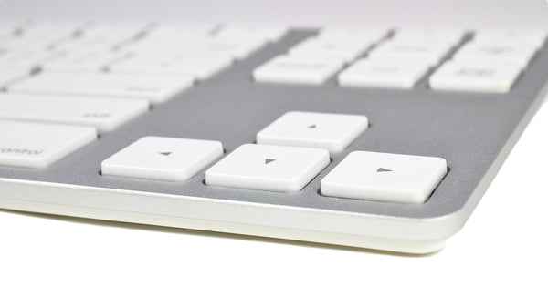 Wireless Aluminum Tenkeyless Keyboard - Silver