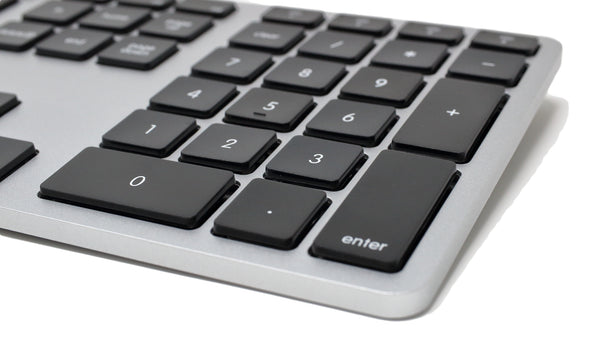 Wireless Multi-Pairing Keyboard for Mac