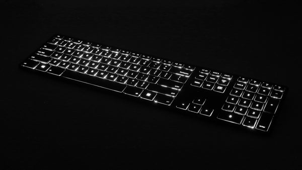 Backlit Wireless Multi-Pairing Keyboard for PC