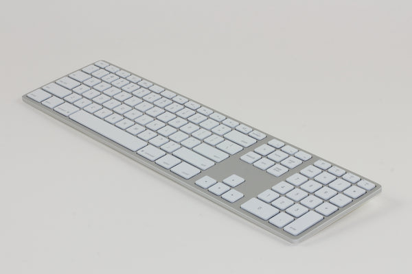 Backlit Wireless Aluminum Keyboard - Silver