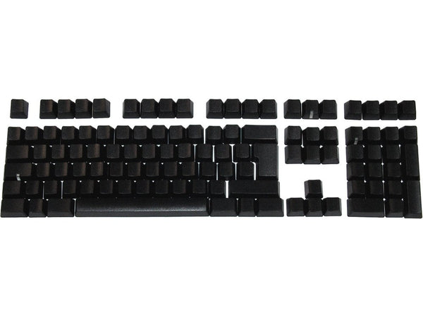 Keycap Set, Black, Blank