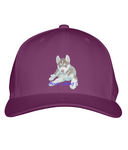 Ultimate Cotton Cap Mine's a Husky - The Dog Demands, [product_dog accessories]