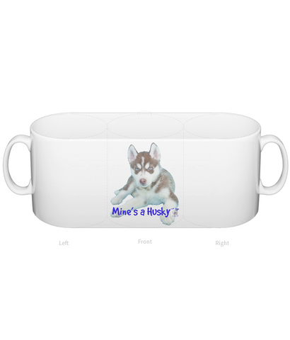 Mug Mine's a Husky - The Dog Demands, [product_dog accessories]