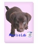 Portrait Canvas Mine's a Lab - The Dog Demands, [product_dog accessories]