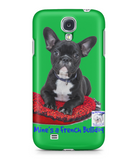 Samsung Galaxy S4 Full Wrap Case Mine's a French Bulldog - The Dog Demands, [product_dog accessories]