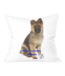 Throw Cushion Mine's a German Shepherd - The Dog Demands, [product_dog accessories]