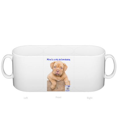 Mug Mine's a Dog de Bordeaux - The Dog Demands, [product_dog accessories]