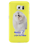 Samsung Galaxy S6 Full Wrap Case Mine's a Coton de Tulear - The Dog Demands, [product_dog accessories]