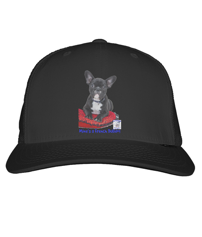 Snapback Trucker Cap Mine's a French Bulldog - The Dog Demands, [product_dog accessories]