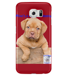 Samsung Galaxy S6 Full Wrap Case Mine's a Dog de Bordeaux - The Dog Demands, [product_dog accessories]