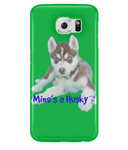 Samsung Galaxy S6 Full Wrap Case Mine's a Husky - The Dog Demands, [product_dog accessories]