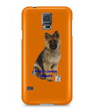 Samsung Galaxy S5 Full Wrap Case Mine's a German Shepherd - The Dog Demands, [product_dog accessories]