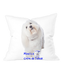 Throw Cushion Mine's a Coton de Tulear - The Dog Demands, [product_dog accessories]
