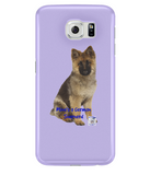 Samsung Galaxy S6 Full Wrap Case Mine's a German Shepherd - The Dog Demands, [product_dog accessories]
