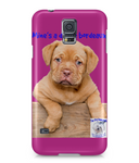 Samsung Galaxy S5 Full Wrap Case Mine's a Dog de Bordeaux - The Dog Demands, [product_dog accessories]