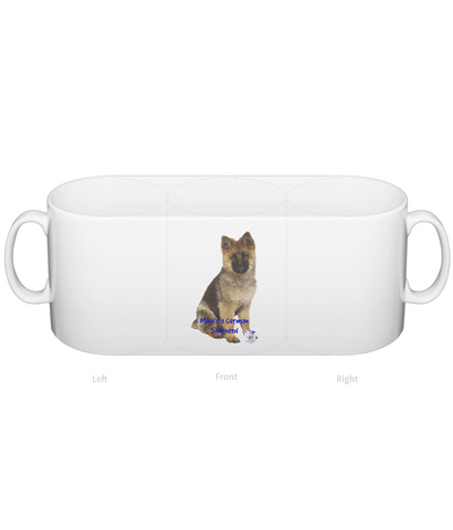 Mug Mine's a German Shepherd - The Dog Demands, [product_dog accessories]