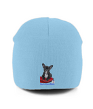 Pull-On Beanie Mine's a French Bulldog - The Dog Demands, [product_dog accessories]