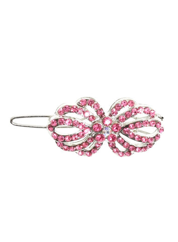 Blossom Swarovski Hair Clip / Dog Barrette – Pink - The Dog Demands, [product_dog accessories]