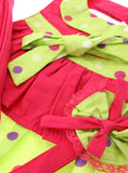 Hot Pink & Polka Dot Harness Dress, Lead & Hat - The Dog Demands, [product_dog accessories]