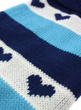 Blue Hearts Striped Sweater - The Dog Demands, [product_dog accessories]