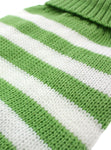 Green & White Candy Stripe Sweater - The Dog Demands, [product_dog accessories]