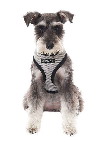 Steel Grey Soft Harness - The Dog Demands, [product_dog accessories]