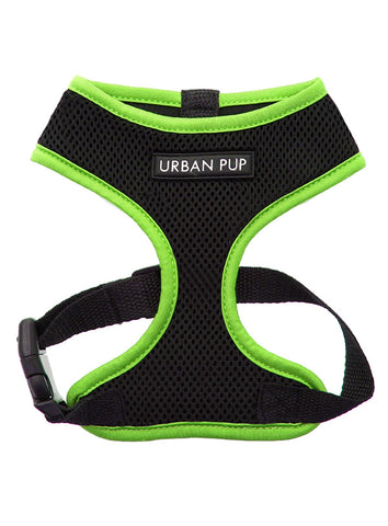 Active Mesh Neon Green Harness - The Dog Demands, [product_dog accessories]