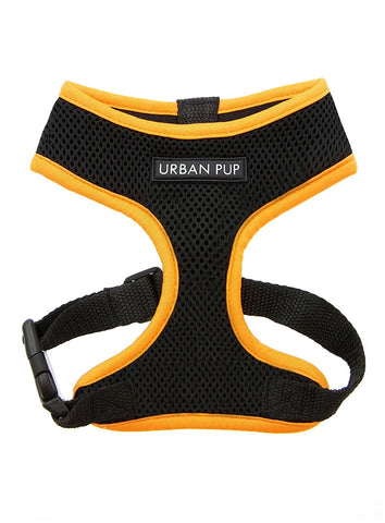 Active Mesh Neon Orange Harness - The Dog Demands, [product_dog accessories]