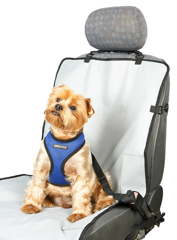 Front Car Seat Cover – Grey - The Dog Demands, [product_dog accessories]