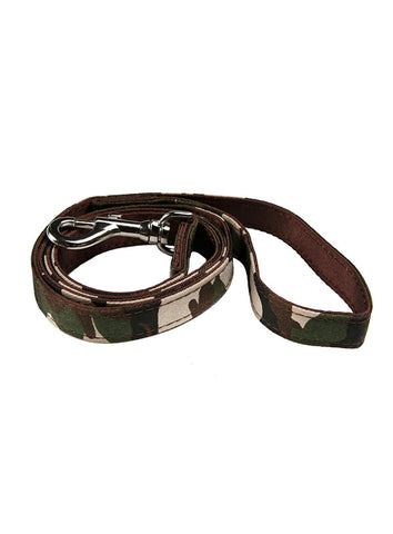 Camouflage Fabric Lead - The Dog Demands, [product_dog accessories]