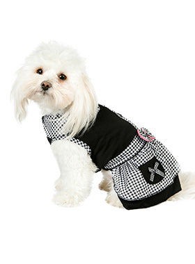 Black Gingham Dress - The Dog Demands, [product_dog accessories]